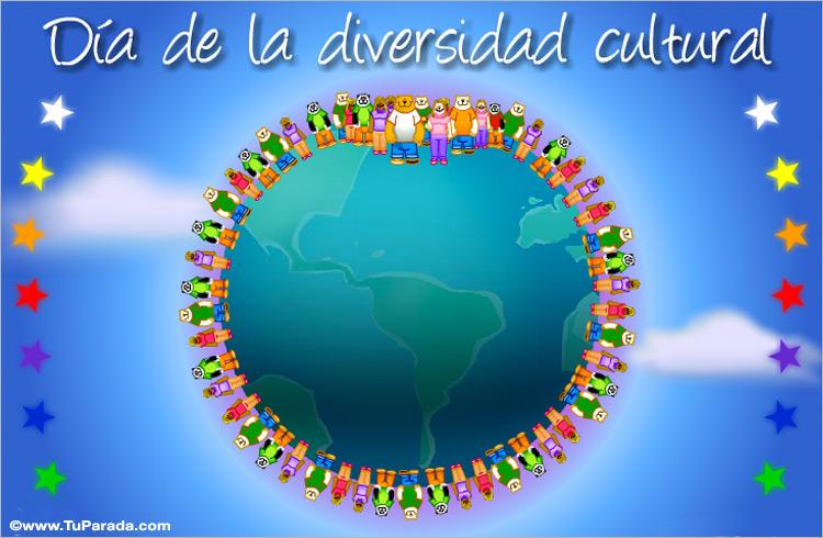 Tarjetas de Día de la Diversidad cultural