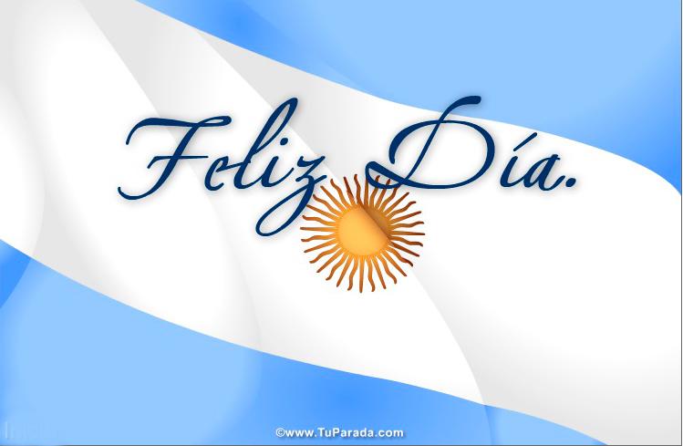 Tarjetas de Fiestas Patrias de Argentina