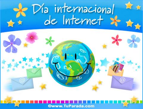 Tarjetas de Día internacional de Internet