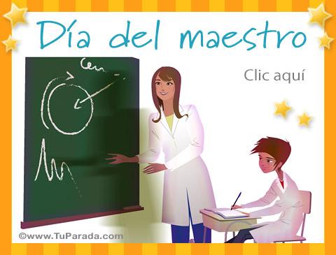 Tarjetas de Día del maestro