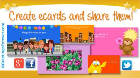 Friendship ecards