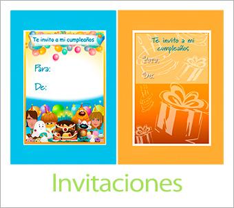 Invitaciones para imprimir