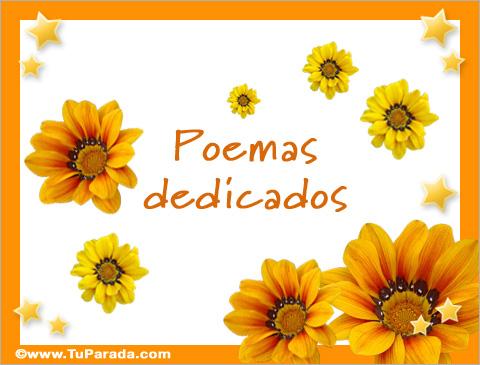 Tarjetas de Poema dedicados