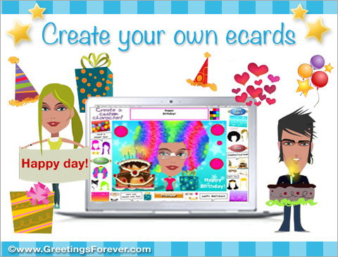 Create your own ecards