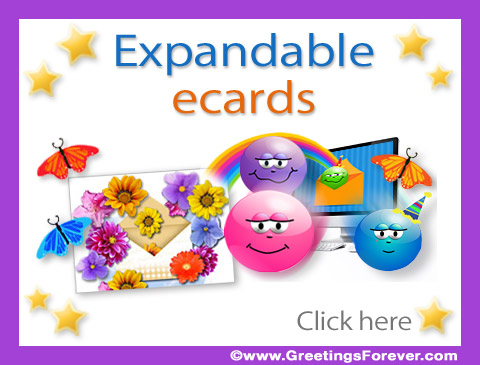 Expandable Push up ecards