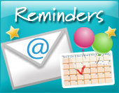 Greeting ecards: Reminders