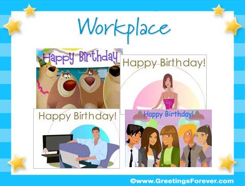 Workplace ecards