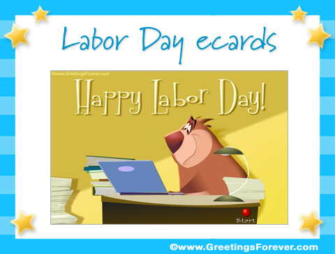 Tarjetas de Labor Day