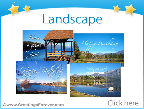 Landscape ecards