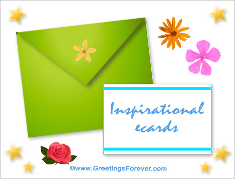 Inspirational ecards