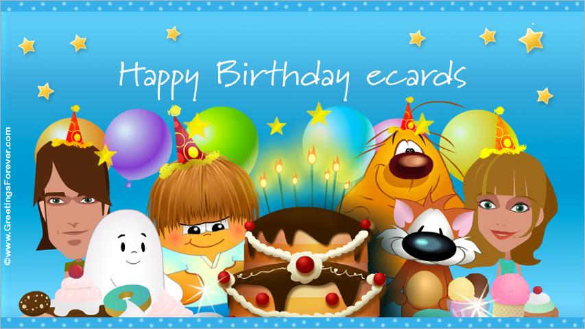 Happy Birthday ecards