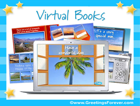 Virtual Books ecards