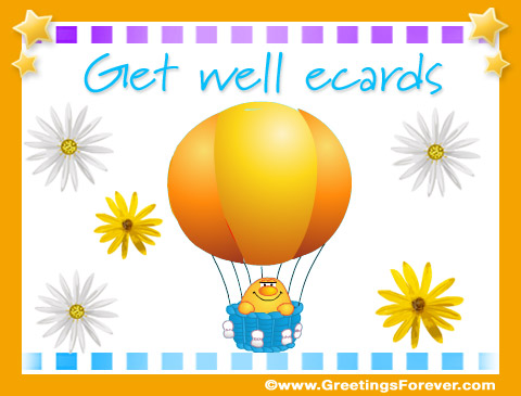 Tarjetas de Get well ecards