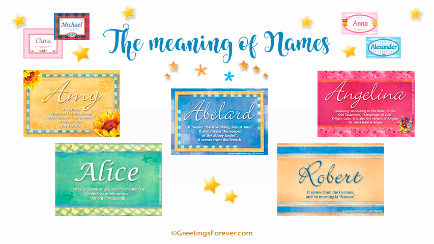 Meaning Of Names Baby Name Meanings Origin
