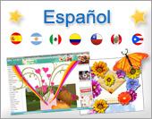 Cartões postais: Español
