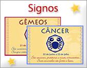 Cartões postais: Signos