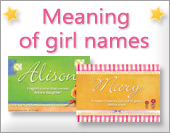 Ecards: Girl names