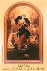 Virgen Desata Nudos