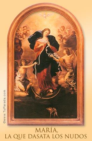 Tarjeta - Virgen Desata Nudos