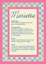 Nombre Marietta