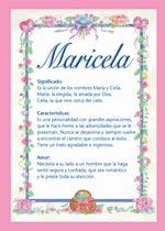 Nombre Maricela