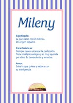 Nombre Mileny