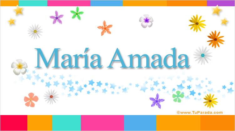 María Amada, imagen de María Amada