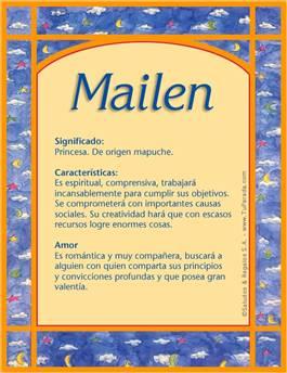 Nombre Mailen
