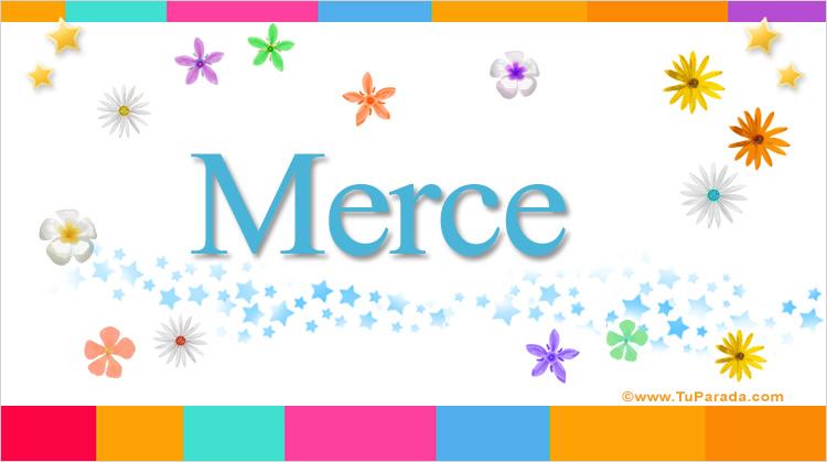 Merce, imagen de Merce