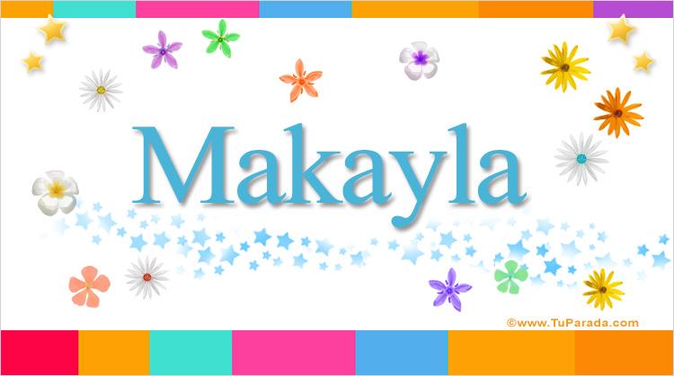 Makayla, imagen de Makayla