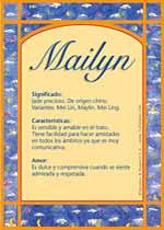 Nombre Mailyn
