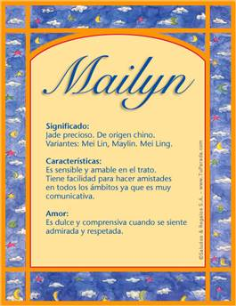 Nombre Mailyn