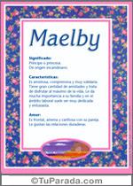 Nombre Maelby