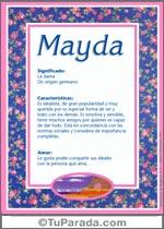 Nombre Mayda