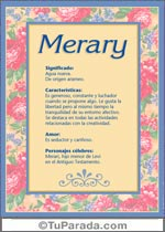 Nombre Merary
