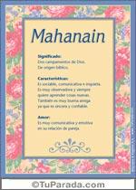 Mahanain
