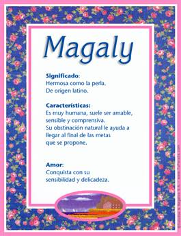 Nombre Magaly