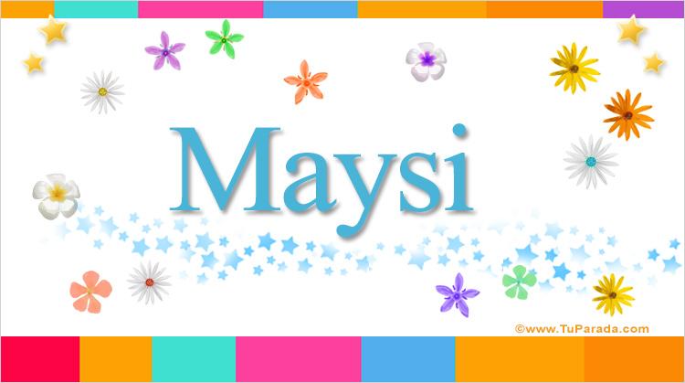 Maysi, imagen de Maysi