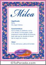 Nombre Milca