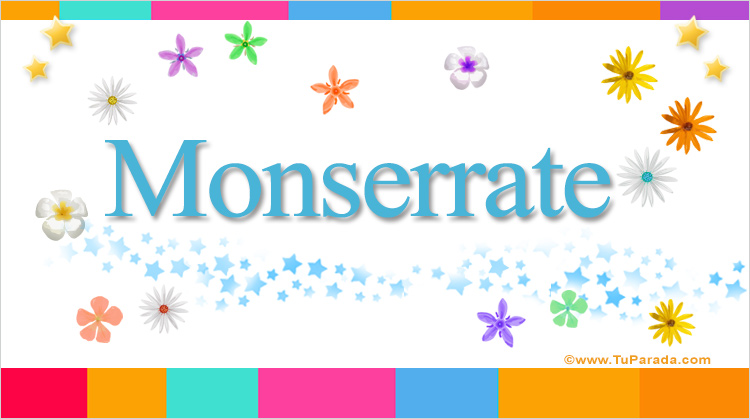 Monserrate, imagen de Monserrate