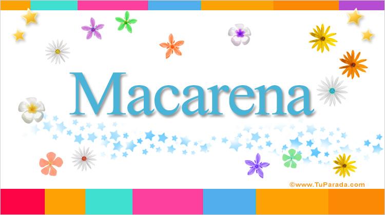 Macarena, imagen de Macarena