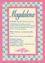 Nombre Magdalena