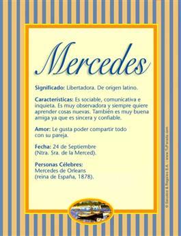 Nombre Mercedes
