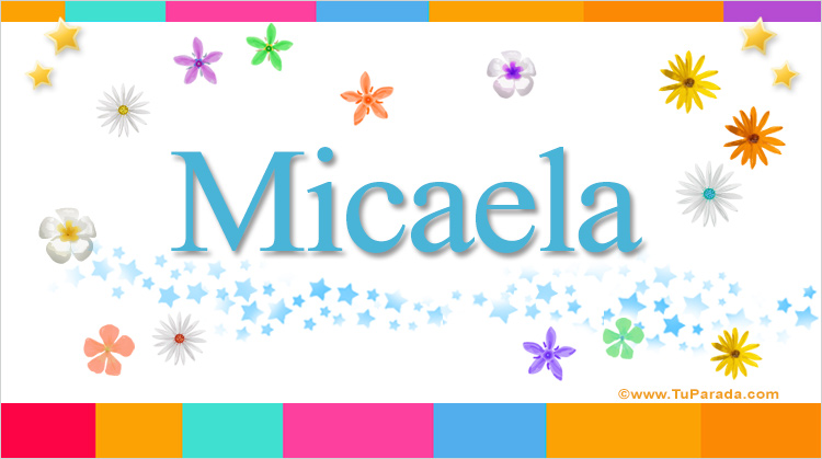Micaela, imagen de Micaela