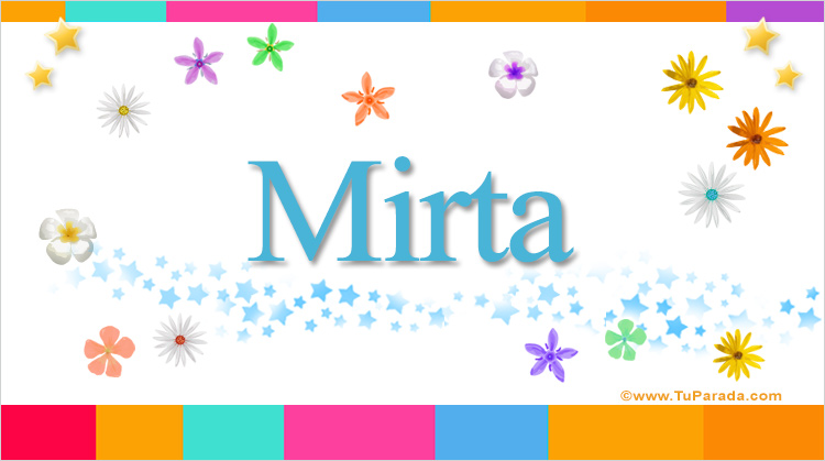 Mirta, imagen de Mirta