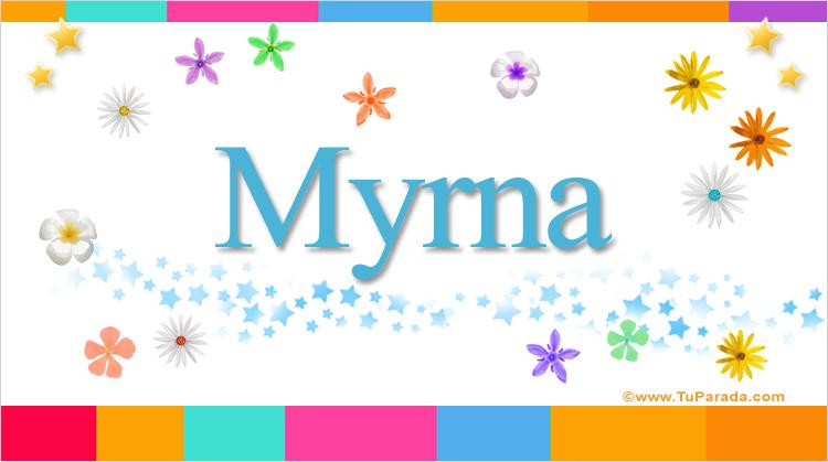 Myrna, imagen de Myrna