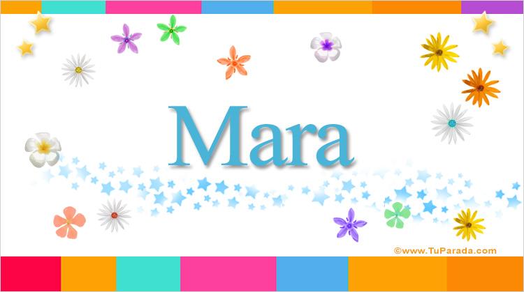 Mara, imagen de Mara