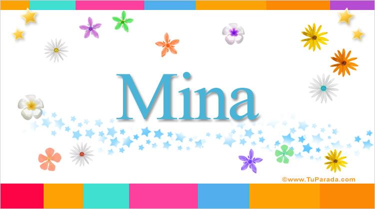 Mina, imagen de Mina