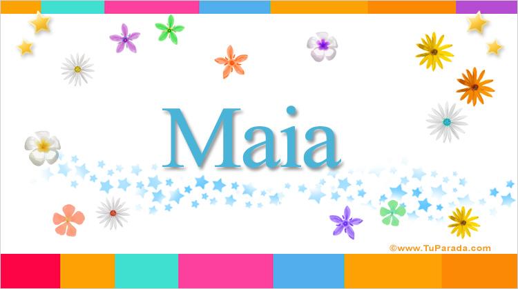 Maia, imagen de Maia