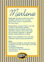 Nombre Marlena